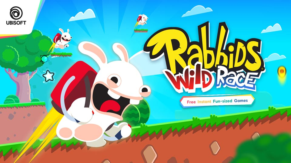 Rabbids Wild Race from Ubisoft Nano