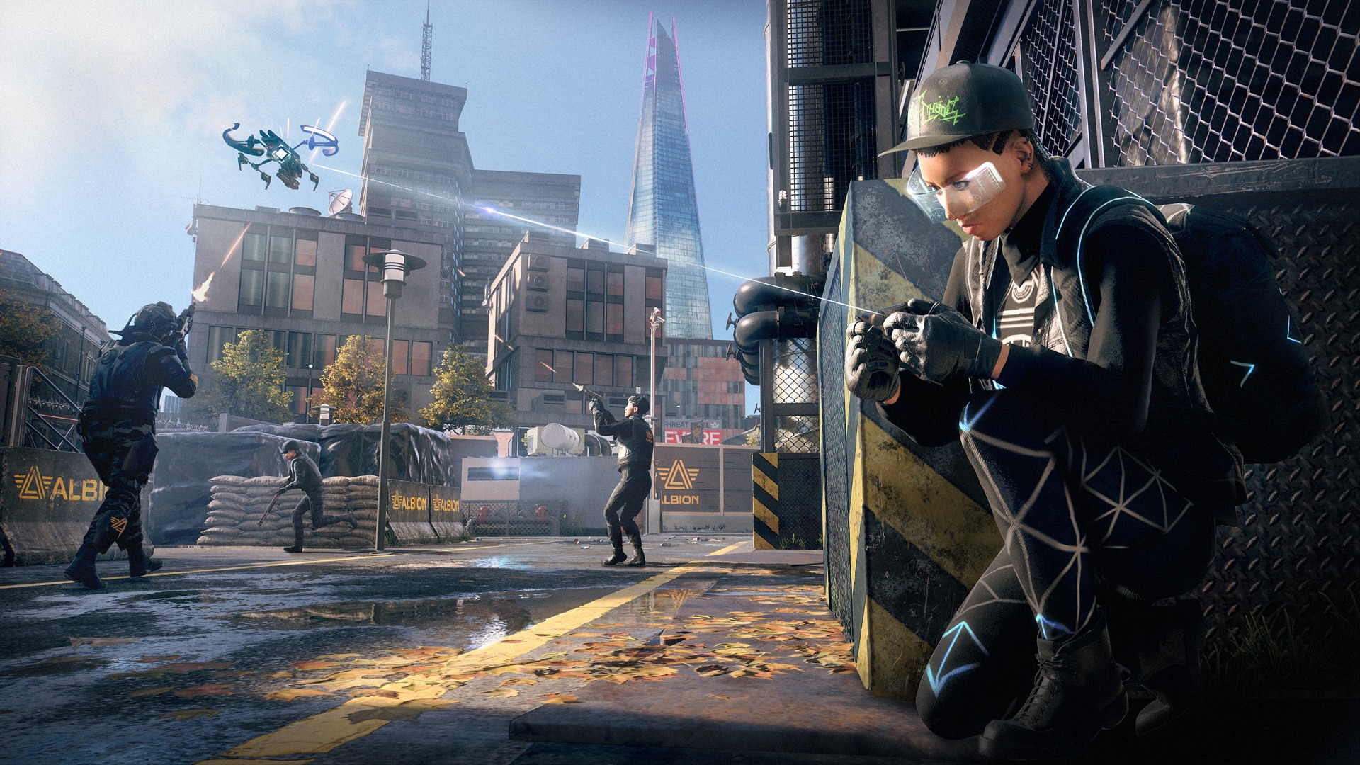 [UN][News] Watch Dogs: Legion – Hands-On With Cargo Drones, Recruitable Enemies, and a Revamped DedSec - DroneExpertWithoutLaser-1920x1080