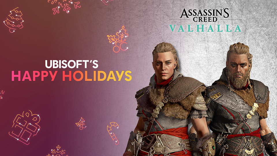 Happy Holidays Gifts from Assassin's Creed Valhalla