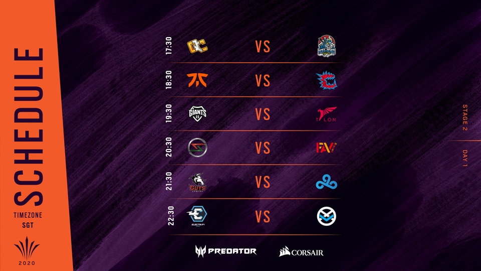 R6 APAC NORTH SCHEDULE DAY01