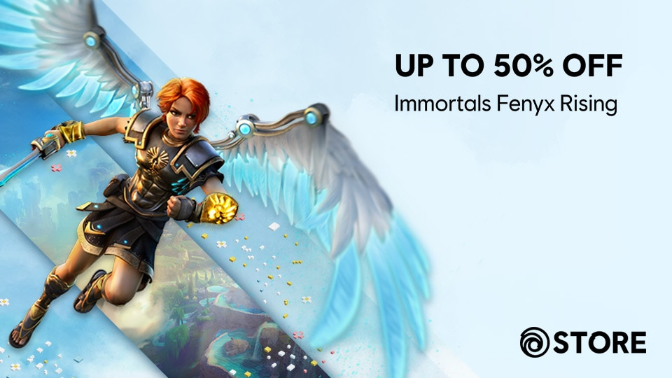 [IFR][News][STORE] Up to 50% off Immortals Fenyx Rising for our Spring Sale!