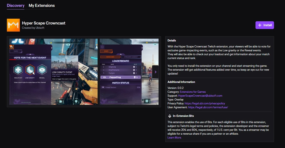 [HYP][News] Twitch Extension Wiki - Wiki-Image1 OB