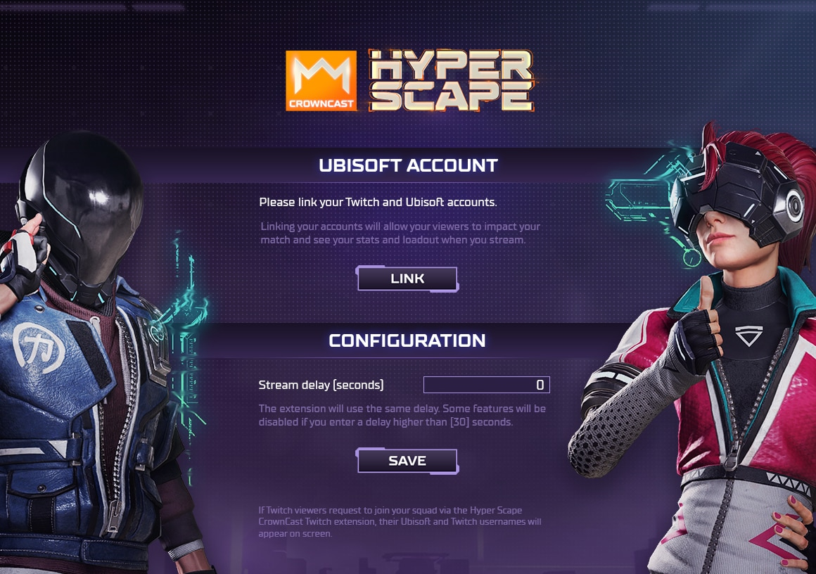 [HYP][News] Wiki Hyper Scape Crowncast - How to Install - account link