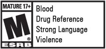 Rainbow 6 is rated M for Mature by the ESRB