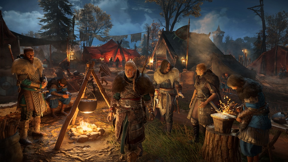 [UN] [News] Assassin's Creed Valhalla – Forge Alliances, Build a Village, and Be a Kingmaker - ACV Encampment