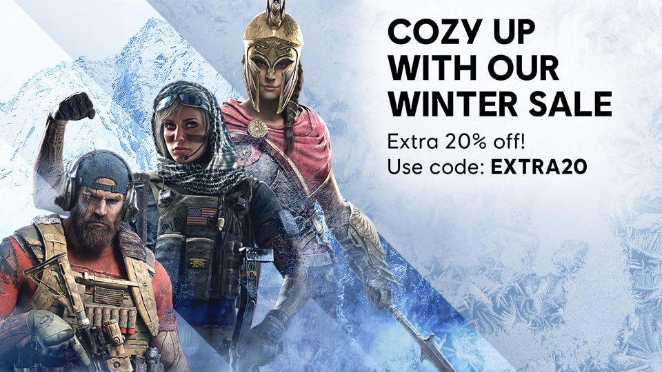 [UN] [News] Ubisoft Store Offers Winter Discounts Of Up to 80% Off - Header