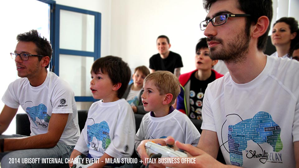 Ubisoft Entertainment - Education Events Category - Ubisoft Charity Jam Thumbnail
