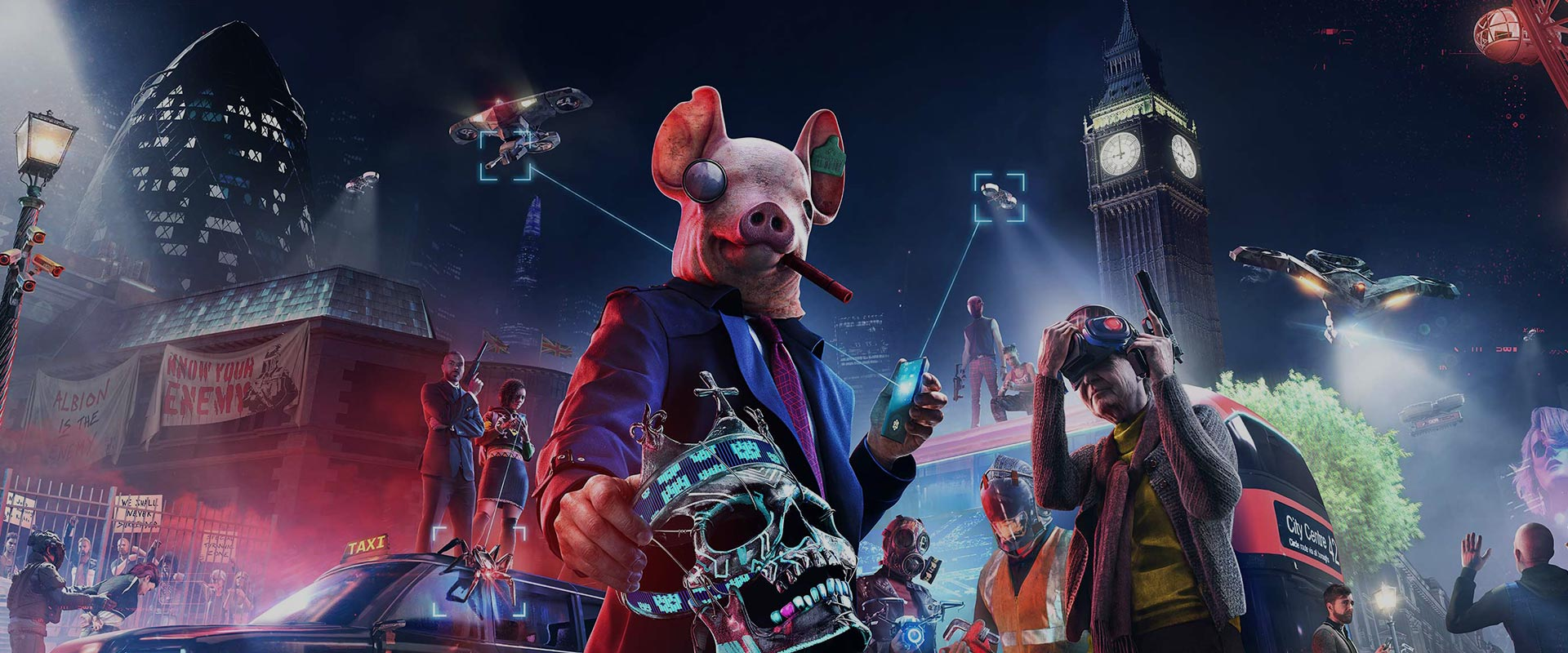 Watch Dogs Legion Site Promo Full Width Background