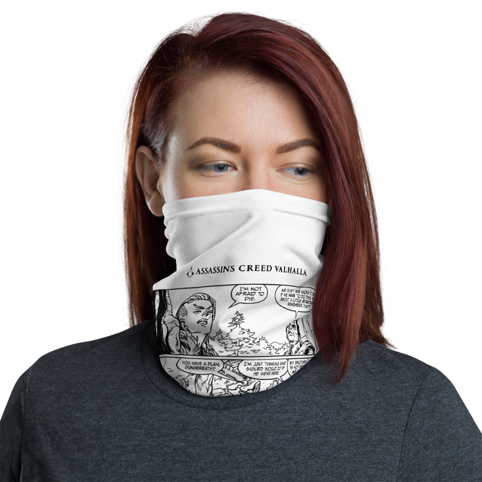 [UN] [News] Official Assassin's Creed Valhalla Merchandise Now Available - Valhalla Comic Facemask